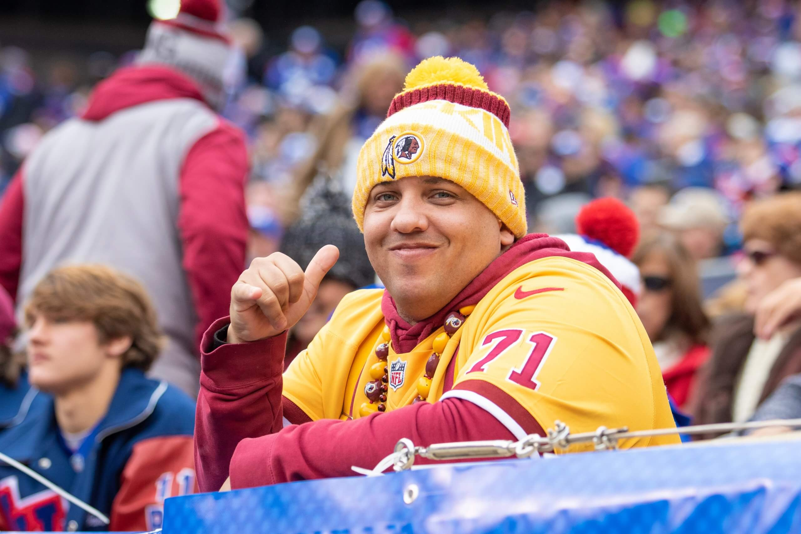 Washington Football fan